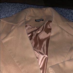 FASHION NOVA Long Coat Size S